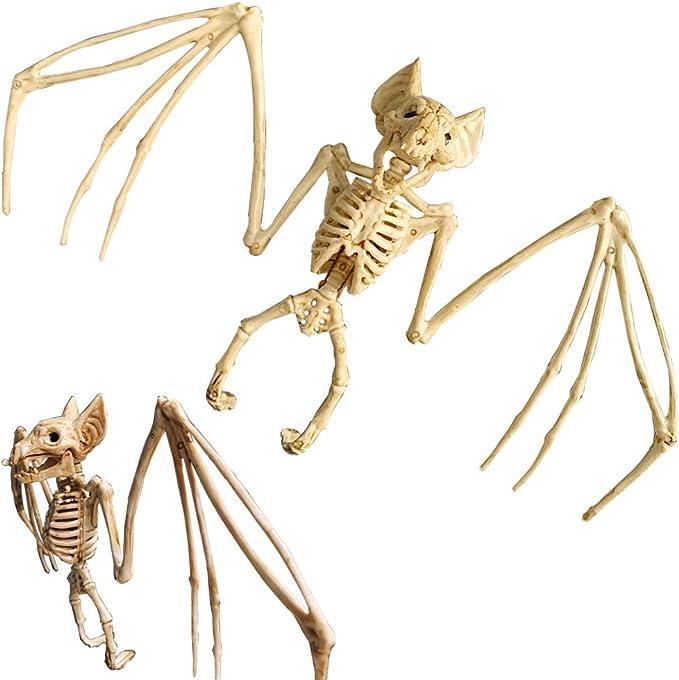 9A19 Bats Skeleton Halloween Party Halloween Decoration Decor Skull Lifelike