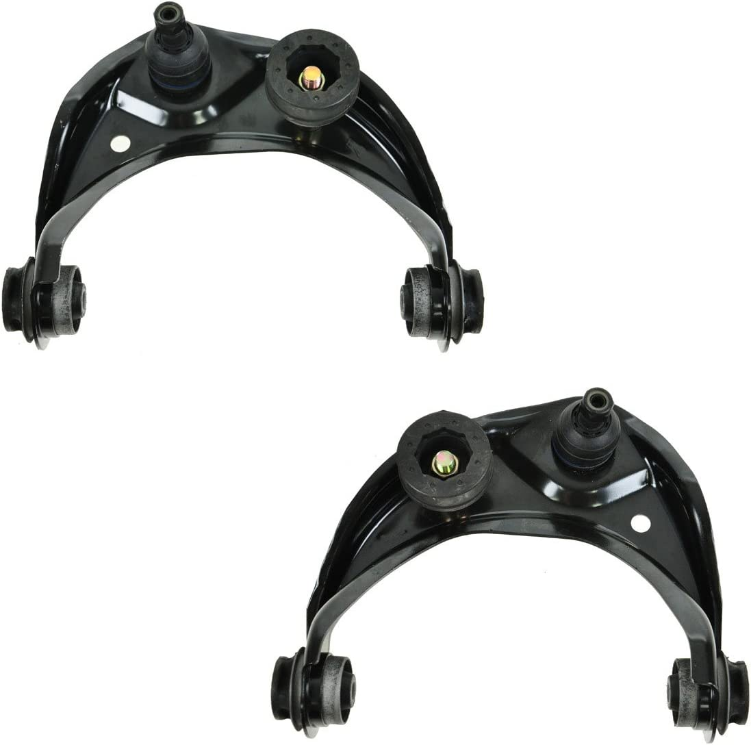 For Ford Lincoln Pair Set of 2 Front Upper Non-Adjustable Control Arms /& Joints