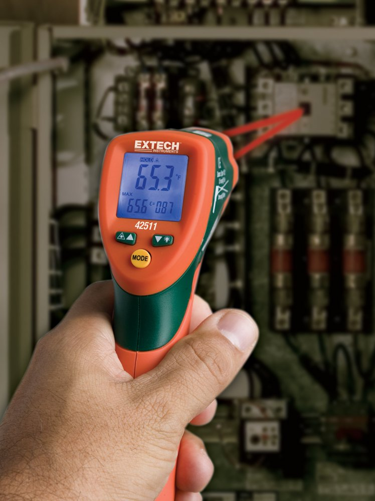 Amazon.com: Extech 42511 Dual Laser Infrared Thermometer: Home Improvement