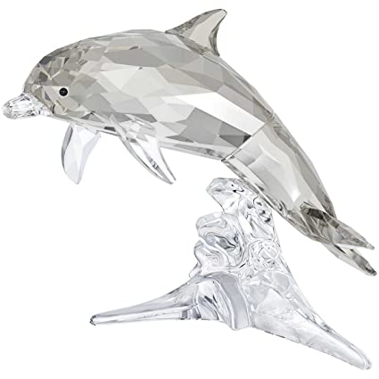 a6c4cefc1 Amazon.com: Swarovski Color Crystal Figurine DOLPHIN MOTHER #5043617: Home  & Kitchen