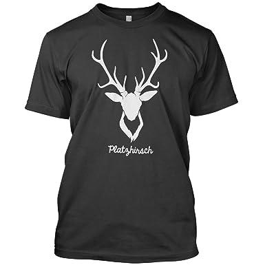 T-Shirt S bis XXL Gr Platzhirsch