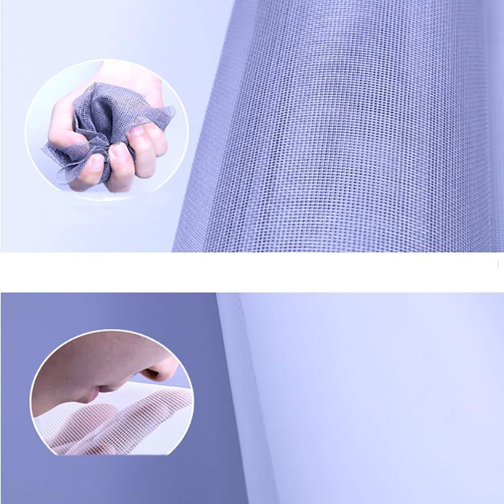 gancho y desmontaje Mosquitera mosquitera magn/ética para ventana antimosquitos cortina de malla autoadhesiva