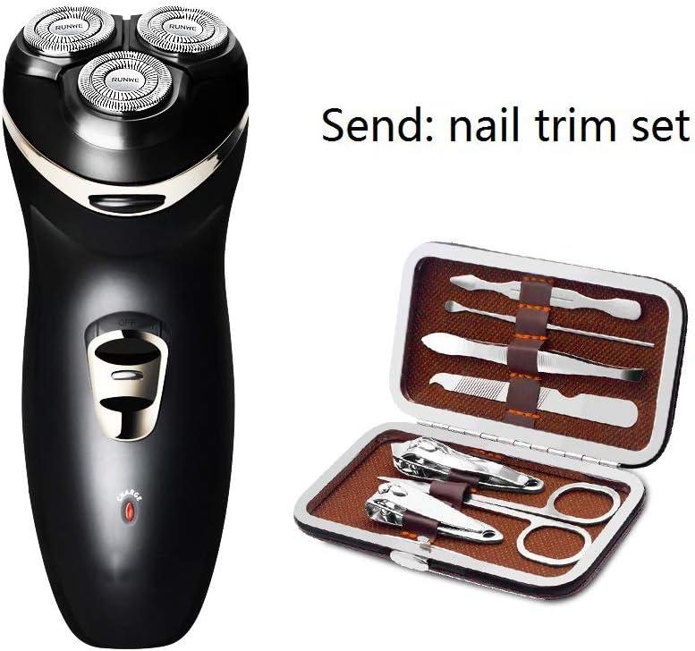 WJJP Afeitadora eléctrica for hombres, maquinilla de afeitar ...