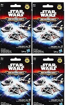 Stars Wars Micromachines Blind Vehicles Series 2 Bundle (4 pack)