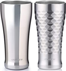 Cupture Double Walled Vacuum Insulated Pint Cup - 16 oz