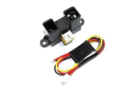 Infrarot entfernungsmesser arduino : Infrarot distanz sensor u cm m gp y a yk f jst v