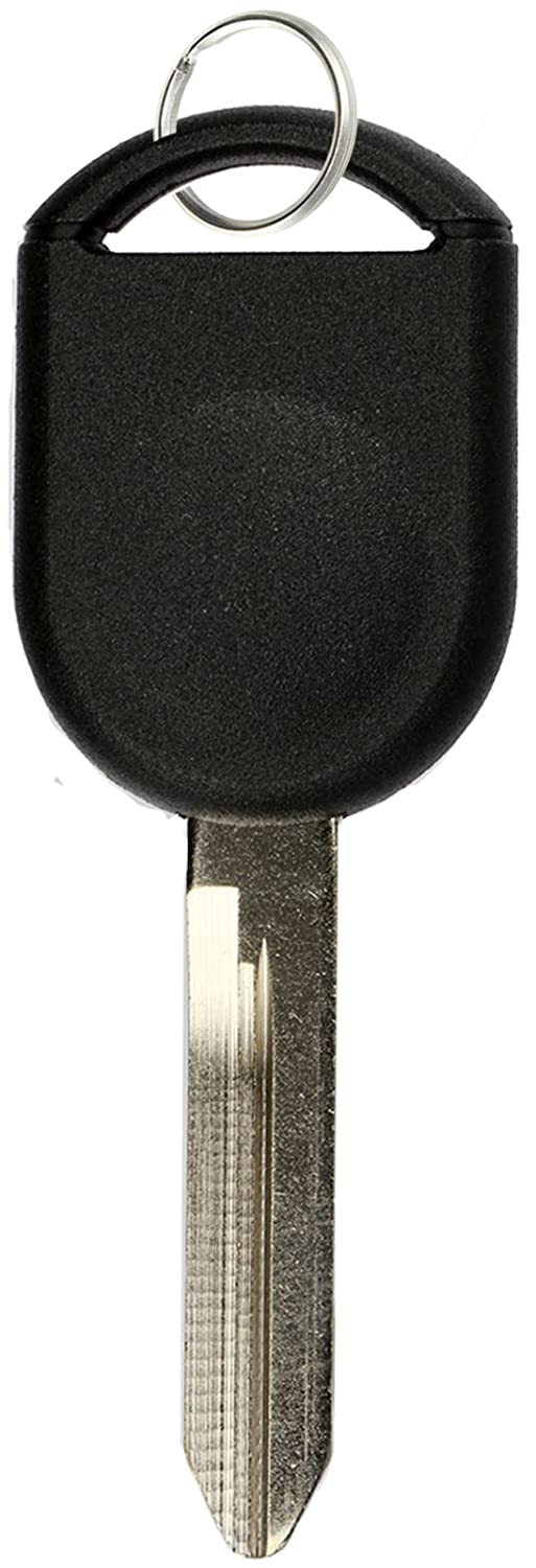 KeylessOption Replacement Uncut Ignition Chipped Car Key Transponder Blank for Ford Lincoln Mercury Mazda
