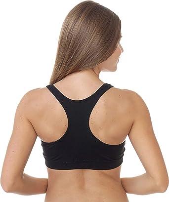 c0d2f65380de8 Amazon.com  Majamas Organic Padded Sporty Bra - ECO Friendly Women s ...