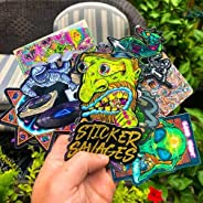 Sticker Savages Exclusive Sticker Subscription Box