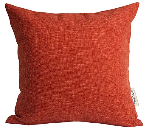 orange outdoor pillows - 6