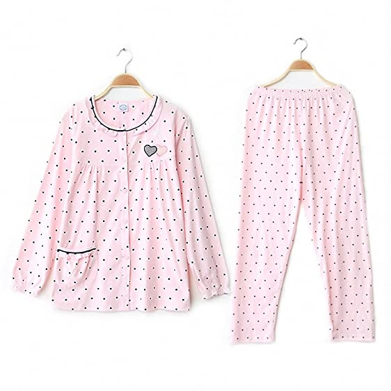 Pijama Promotion Pijamas Women Pajama Sets 100% Cotton Sleepwear Long Sleeve Lounge Set Leisure Homewear
