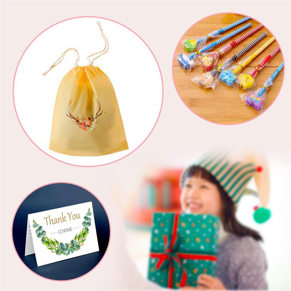 Crayons enfants, KimKo 30 x crayons de dureté de HB avec caoutchoucs pour dessin animés pour les fêtes de fin d\'année, les sacs de fête, le cadeau d\'anniversaire parfait