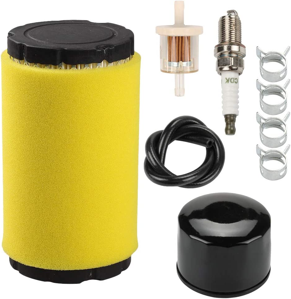 Anzac 793569 793685 Air Filter + 696854 492932 Oil Filter for BS 493629 492932S 695396 MIU11511 GY21055 AM39687 20-21 Gross HP Engine