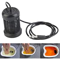 Generic Detox Round Stainless Steel Array Aqua Spa Foot Massage Ionic Cleanse Ion