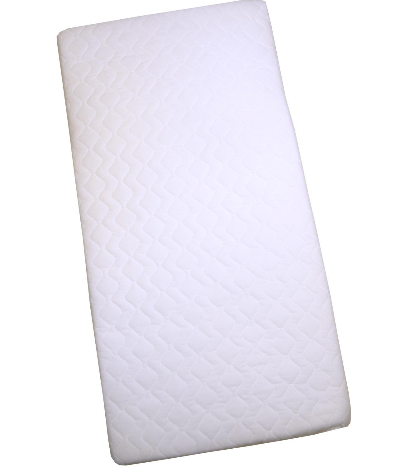 BabyPrem Crib/Pram Mattress 84 x 43 x 3.5cm Quilted Option