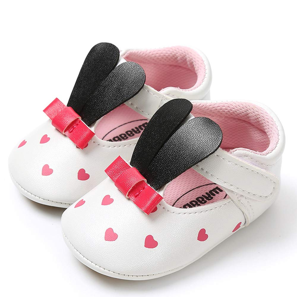 Baby Girl Rabbit Ears Fashion Toddler First Walkers Kid Shoes