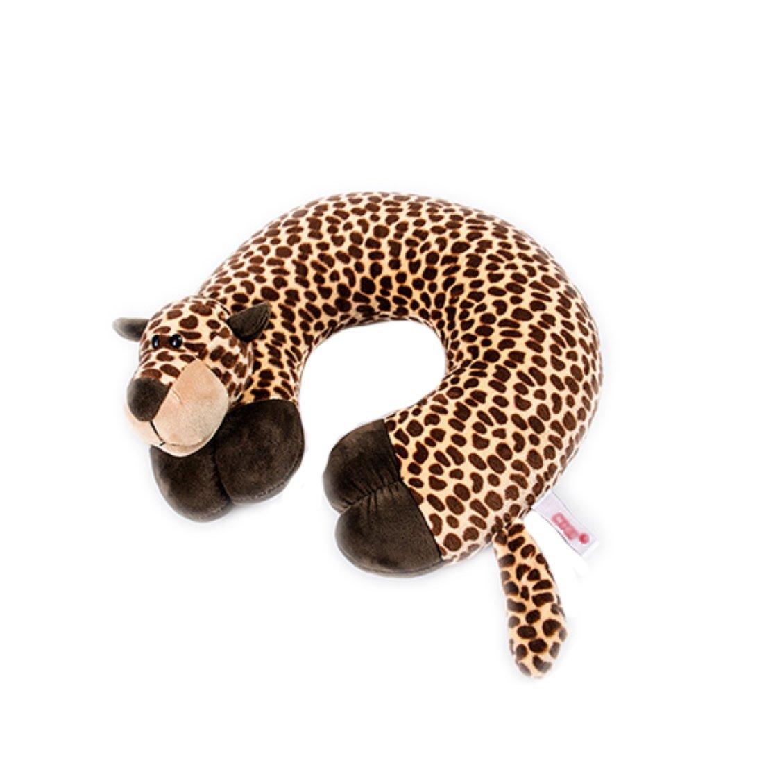 Pingstore Cute Cartoon Animal U Shaped Plush Pillow Neck Bolster Travel Home Office Break Crystal Velvet Memory Cotton Pillow by pingstore (Image #1)