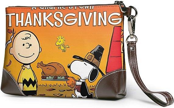 Happy Thanksgiving Snoopy (2) Carteras de Cuero para Mujer ...