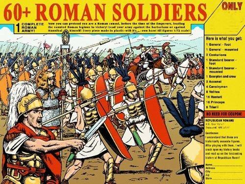 HAT Punic War Republican Roman Army (60+ Piece Set) 1/72 Scale ()