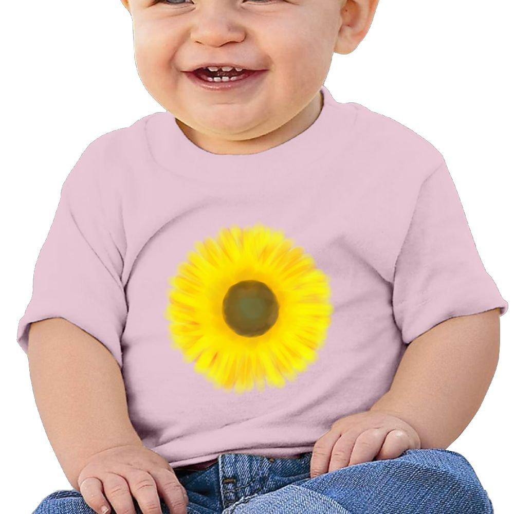 Arsmt Childrens Sunflower 1 Sleeve Short T-Shirt Baby Boys