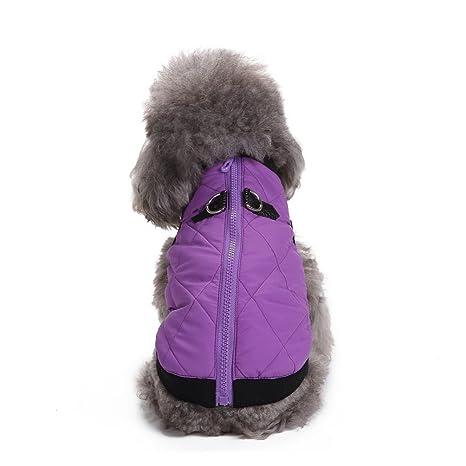 Selmai - Arnés tipo chaleco cálido e impermeable para perros y gatos pequeños y para cachorros