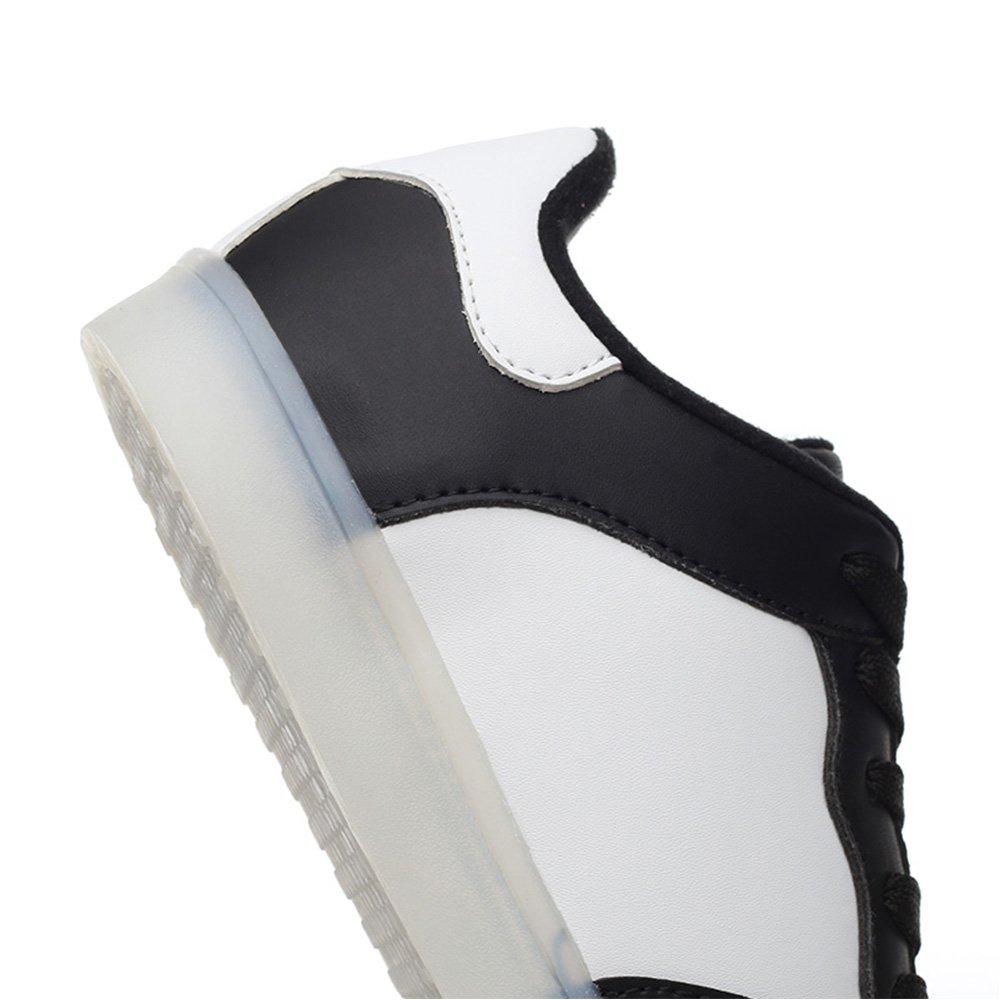 PEAK IDEA Frames Kid Boy Girl USB Charging Multi-Color LED Light UP Sneakers LGK620B130