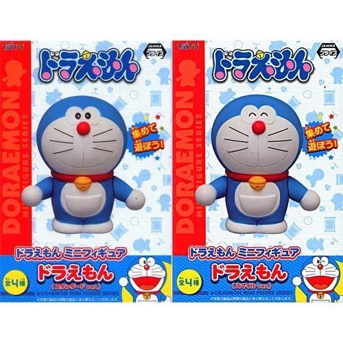 Doraemon mini figure set of 2