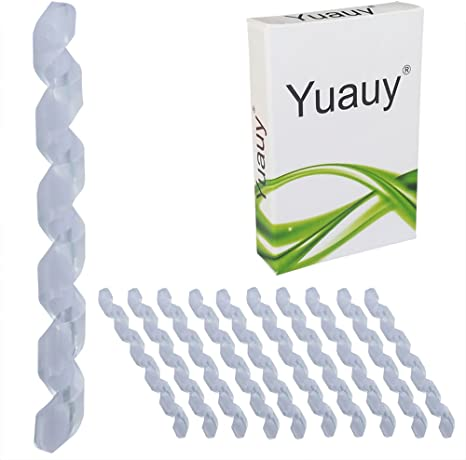 Yuauy - Juego de 10 Fundas Protectoras de Goma para Cable de ...