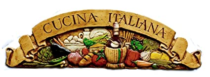 Italian Kitchen Wall Decor Cucina Italiana Door Topper