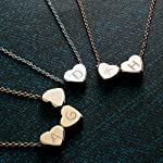 Hearts-Initial-Necklace-Hand-stamped-16k-Gold-White-Gold-Rose-Gold-Plated-Dainty-Heart-Charm-Dainty-Christmas-Wedding-gifts-Bridesmaids