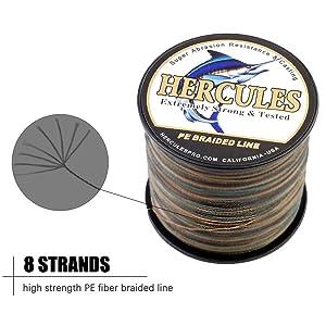braid fishing line 15 lb Spider King/</>High Shock Strength
