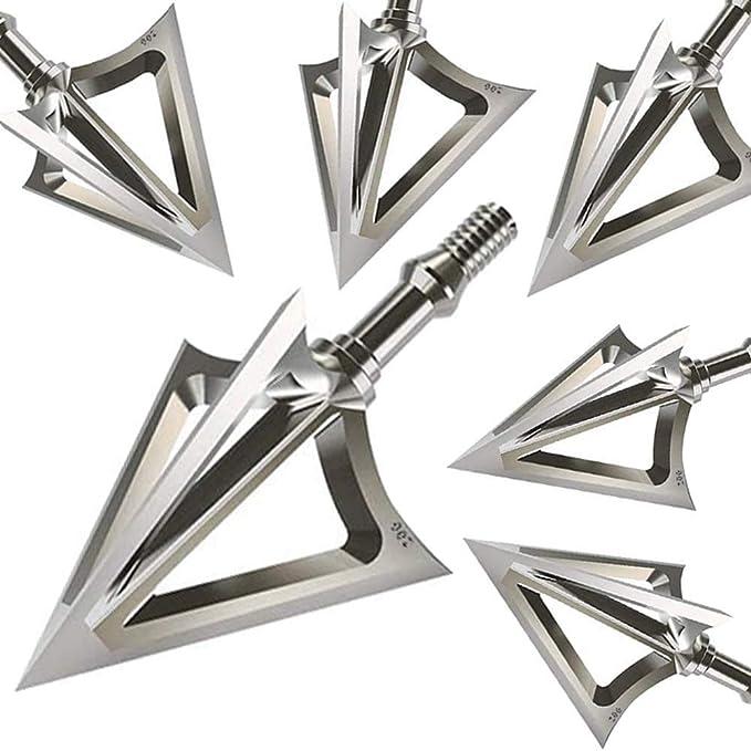 12er Jagdspitzen 3D Pfeilspitze 135 Grains Pfeilspitzen Bogenschießen Broadheads