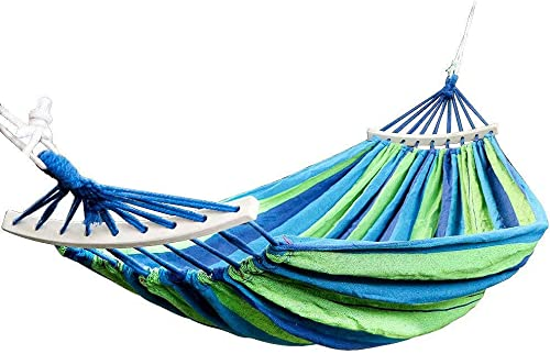 ThreeH Extra Large Hammock Fabric Canvas Camping Hammock