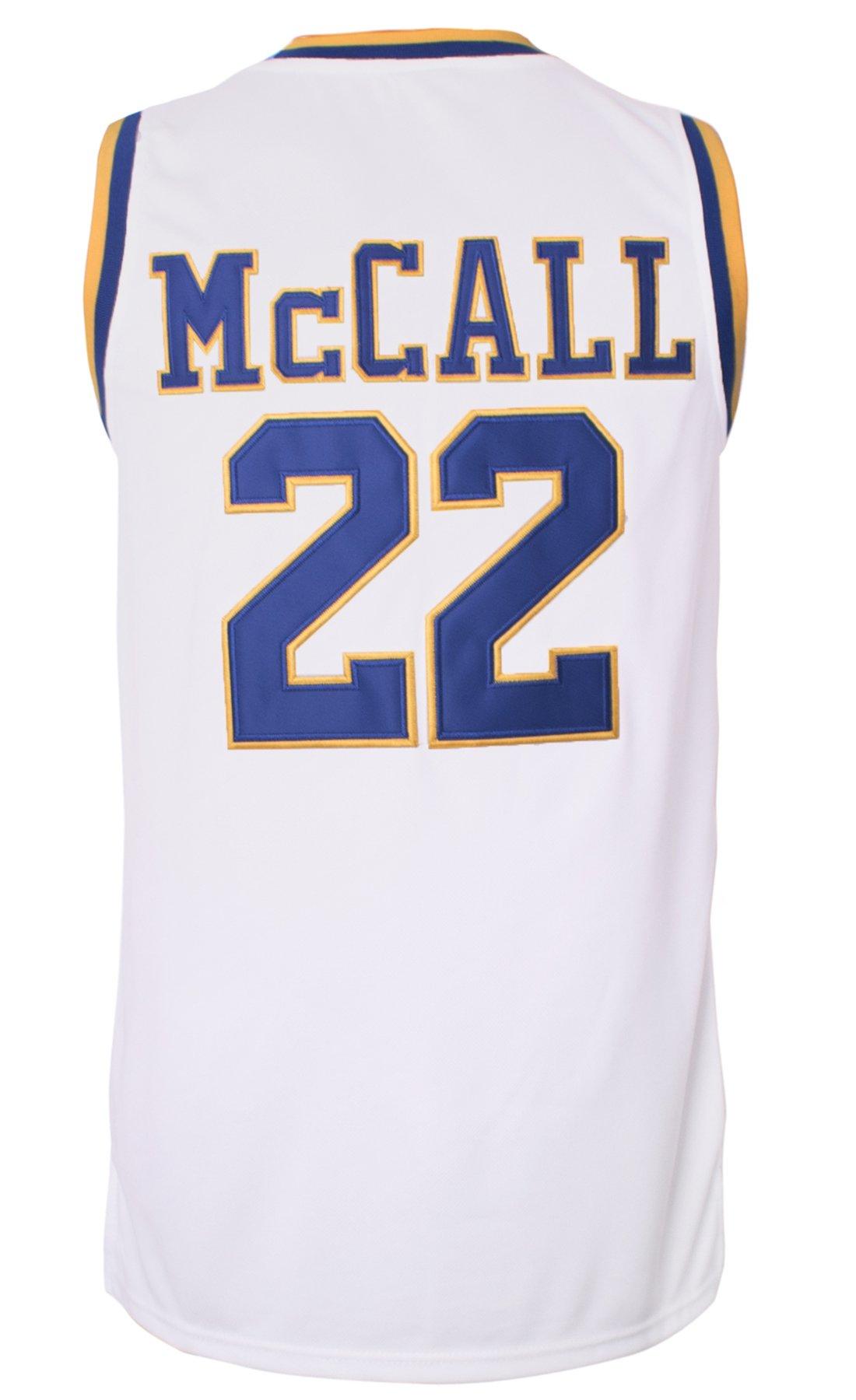 60ec251d3fb2 Quincy McCall 22 White Basketball Jersey (M) - 16011701B   Jerseys   Sports    Outdoors - tibs