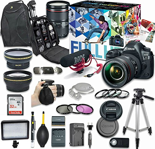 Canon EOS 5D Mark IV - Bundle 1