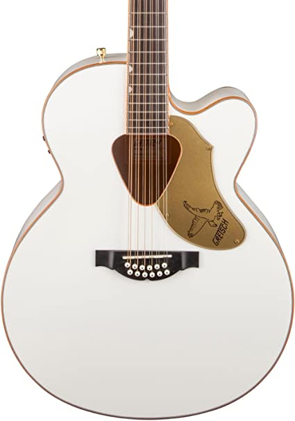 Gretsch Acoustic Guitars >> Gretsch G5022cwfe 12 Rancher Falcon White 12 String Acoustic Electric Guitar
