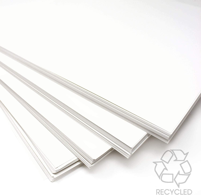 Artway A1-100 Feuilles de Papier cartonn/é Blanc