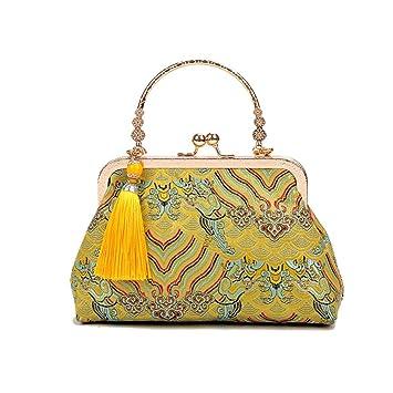 88a030c2d Cartera de mano, Bolso de las mujeres del estilo chino, bordado de la  manera étnica hecho ...