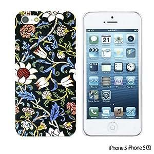 OnlineBestDigitalTM - Flower Pattern Hardback Case for Apple iPhone 5S / Apple iPhone 5 - Evenlode 2