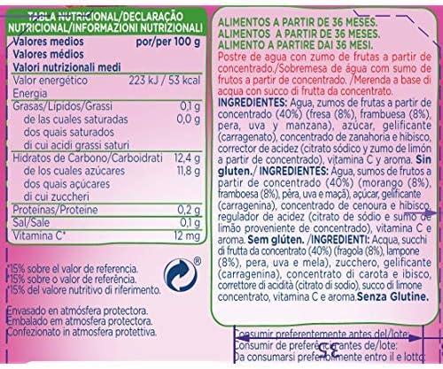 Hero - Bolsita De Fruta Nanos gelatina Frutas Del Bosque 100 ...
