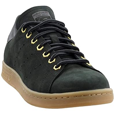 free shipping 4f03a 5c126 Amazon.com | adidas Mens Stan Smith WP Casual Black 8 ...