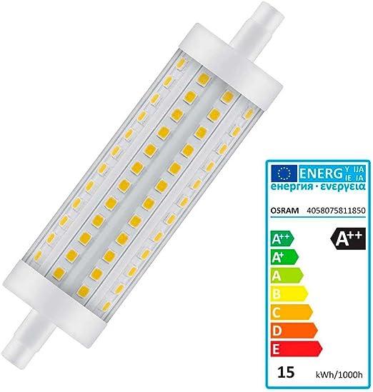 Osram Ampoule LED Plastique 15 W R7s Transparent: