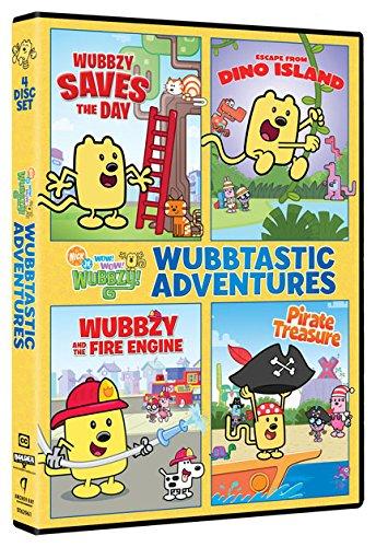 Wubbzy's Wubbtastic Adventures (Boxed Set, 4PC)