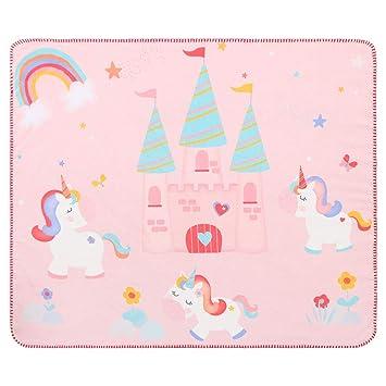 137d7921ea3f8 Licornes Couverture Douce Bebe Polaire Naissance Plaid Bebe Plaid Enfant  Pour Fille   Garcon Legere Et