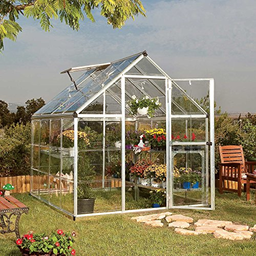 Harmony 6′ x 8′ Greenhouse with Starter Kit