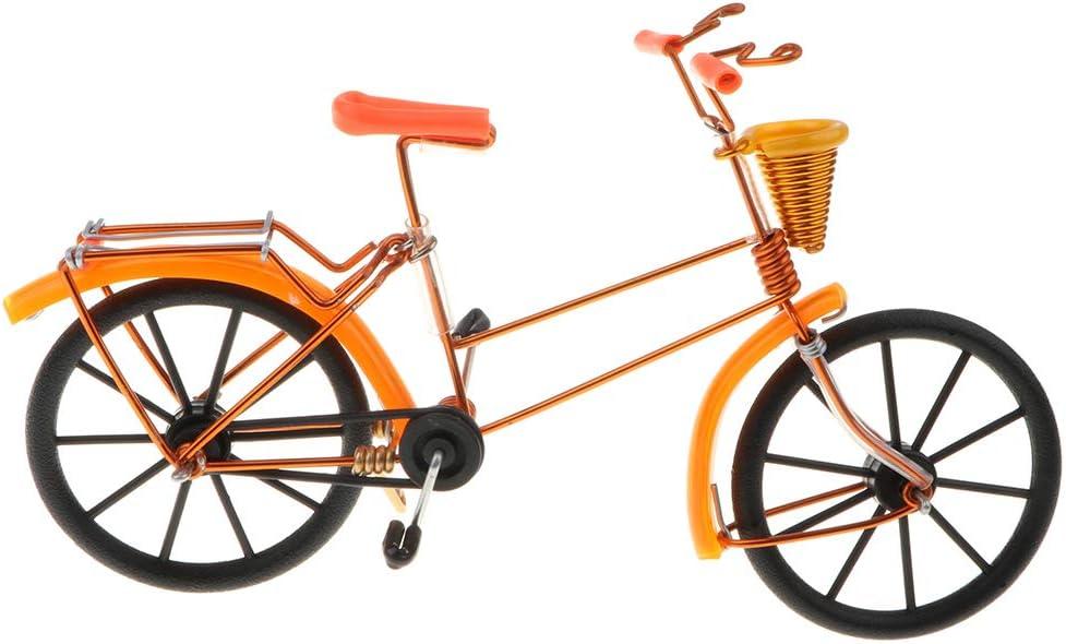 1:10 Modelo de Bicicleta con Canasta de Aluminio Realista en ...