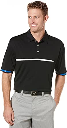 Callaway Men's Golf Short Sleeve Signature Performance Polo Shirt