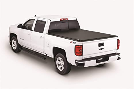 Tonno Pro LR-1050 Lo-Roll Black Roll-Up Truck Bed Tonneau Cover 2014-2018  Chevrolet Silverado/GMC Sierra 1500, 2015-2018 Silverado 2500, 3500 / GMC