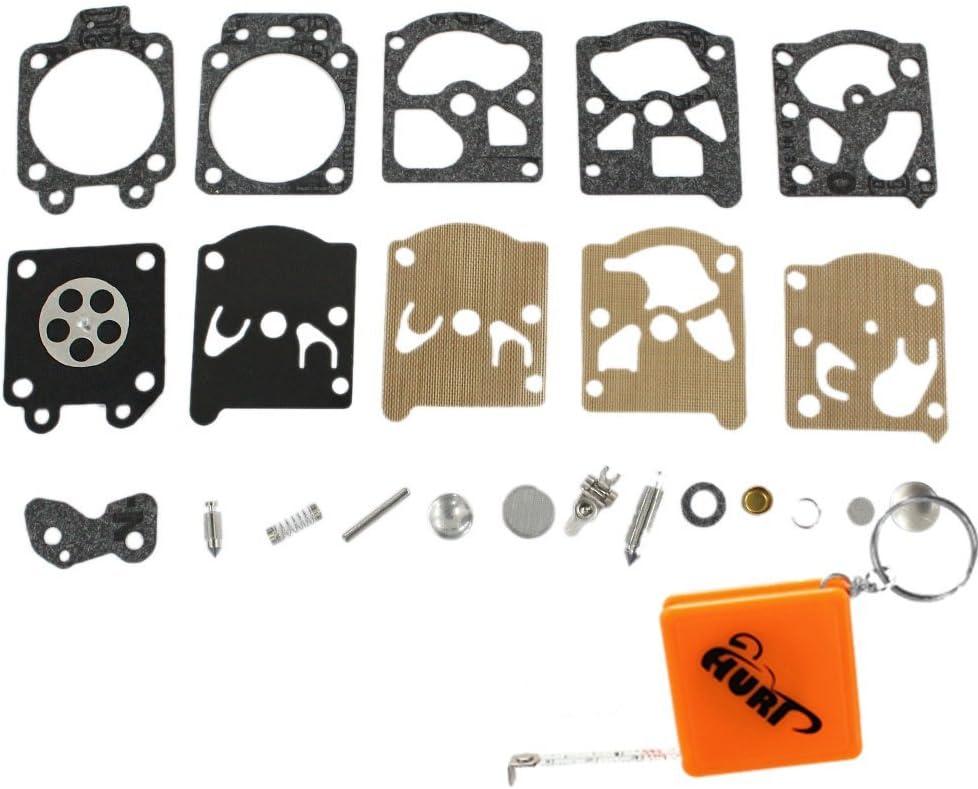 WT Carb Diaphragm Gasket Needle Carburettor Repair Kit Replace Walbro K20-WAT