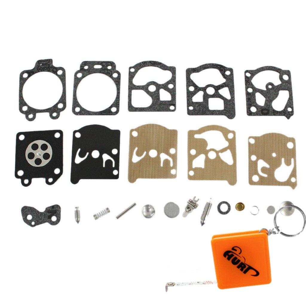 Le kit de ré paration du carburateur HURI pour le joint de la membrane remplace le joint WA WT Walbro K20-WAT des carburateurs STIHL 017 021, 023, 024, 025, 026, 1121, 1130, MS210 MS230, MS240, MS250, MS260, FS36, FS 40, FS 44, FS75, FS80, FS85, FC7